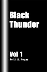 Cover of: Black Thunder Vol I
