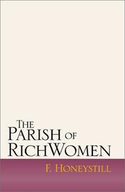 Cover of: The Parish of Rich Women