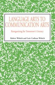 Cover of: Language Arts to Communication Arts