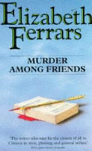 Cover of: Murder Among Friends