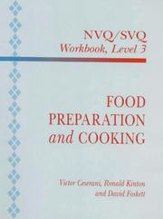 Cover of: Food Preparation and Cooking