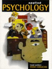 Cover of: Applied Psychology