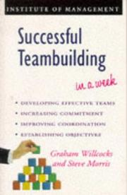 Cover of: Successful Teambuilding in a Week (Successful Business in a Week)