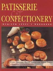 Cover of: Patisserie and Confectionery (NVQ/SVQ Workbook)