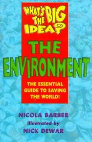 Cover of: The Environment (What's the Big Idea?)