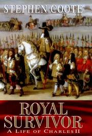 Cover of: ROYAL SURVIVOR The Life of Charles II