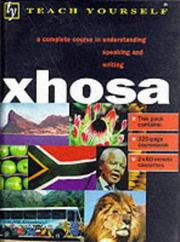 Cover of: Xhosa