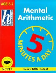 Cover of: Mental Arithmetic (Hodder Home Learning 5 Minutes a Day)