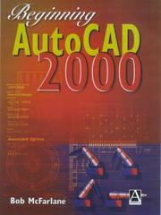 Cover of: Beginning AutoCAD 2000