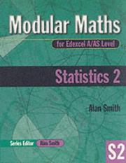 Cover of: Statistics (Modular Maths for Edexcel A/AS Level)