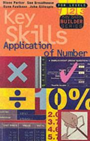 Cover of: Application of Number Key Skills (Key Skills Builder)