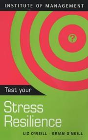Cover of: Test Your Stress Resilience (TEST YOURSELF)