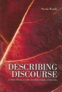 Cover of: Describing Discourse