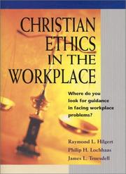Cover of: Christian Ethics in the Workplace