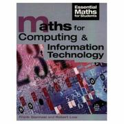 Cover of: Maths for Computing and Information Technology (Essential Maths for Students)