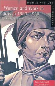 Cover of: Women and work in Russia, 1880-1930 : a study in continuity through change