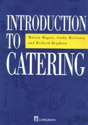 Cover of: Introduction to Catering