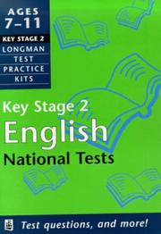 Cover of: English (Longman Test Practice Kits)