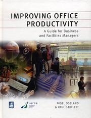 Cover of: Improving Office Productivity (Chartered Institute of Building)