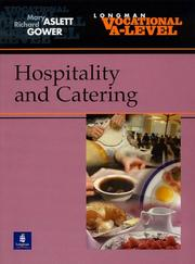 Cover of: Vocational A-level Hospitality and Catering