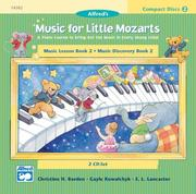Cover of: Music for Little Mozarts 2-CD Sets for Lesson and Discovery Books