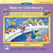Cover of: Music for Little Mozarts