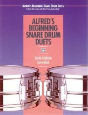 Cover of: Alfred's Beginning Snare Drum Duets