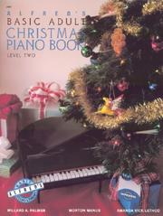 Cover of: Alfred's Basic Adult Christmas Piano Book Level Two (2467)