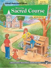 Cover of: Alfred's Basic All-in-One Sacred Course for Children (Alfred's Basic Piano Library)