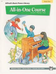 Cover of: Alfred's Basic All-in-one Course for Children, Book 2 (Alfred's Basic Piano Library)