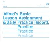 Cover of: Lesson Assignment and Practice Record