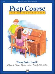 Cover of: Alfred's Basic Piano Prep Course