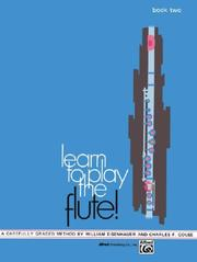 Cover of: Learn to Play the Flute! Book 2 (Learn to Play)
