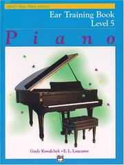 Cover of: Alfred's Basic Piano Course