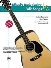 Cover of: Folk Songs for Guitar (Alfred's Basic Guitar Library)