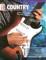 Cover of: Tab Licks, Country Guitar