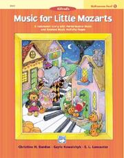 Cover of: Music for Little Mozarts Halloween Fun (Music for Little Mozarts)