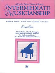 Cover of: Musicianship Book - Intermediate Musicianship
