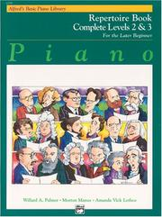 Cover of: Alfred's Basic Piano Library