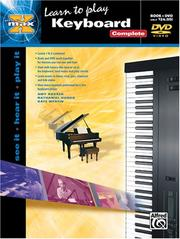 Cover of: Learn To Play Keyboard  (Book & DVD) (Alfred's Max)