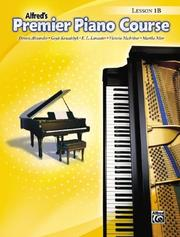 Cover of: Premier Piano Course, Lesson Book 1b (Premier Piano Course)