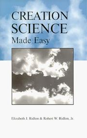 Cover of: Creation Science Made Easy