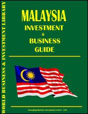 Cover of: Malaysia Investment & Business Guide