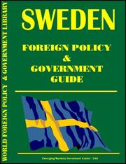 Cover of: Sweden Foreign Policy and Government Guide