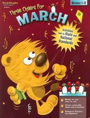 Cover of: Three Cheers for March Grades 1&2 (Three Cheers for)