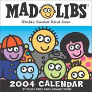 Cover of: Mad Libs 2004 Day-To-Day Calendar
