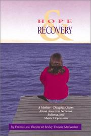 Cover of: Hope and Recovery