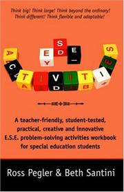 Cover of: E.S.E. Activities (ESE Activities)