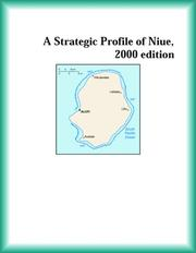 Cover of: A Strategic Profile of Niue, 2000 edition (Strategic Planning Series)
