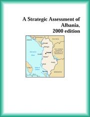 Cover of: A Strategic Assessment of Albania, 2000 edition (Strategic Planning Series)